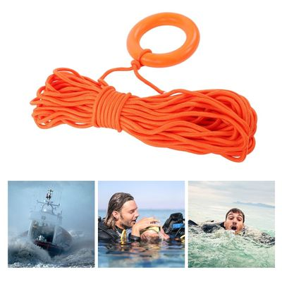 30M Strong Water Emergency Life Saving Rope Cord Lifesaving Line Floating Lifeline Boating Diving Swimming Pool Lifeguard Rescue