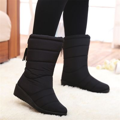 2020 New Women Boots Winter Women Ankle Boots Waterproof Warm Women Snow Boots Women Shoes Women's Boots