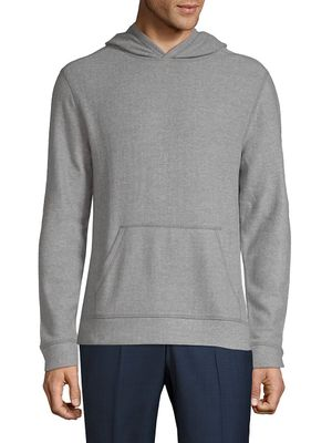 Saks Fifth Avenue Fuzzy Pullover Hoodie