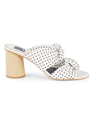 Dolce Vita Jene Polka Dot Heeled Sandals