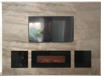 Free shipping to United Kingdom decorative modern electric wall heater