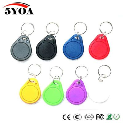 5pcs UID IC Badge Changeable Smart Keyfobs Key Tags Card for 1K S50 RFID 13.56MHz ISO14443A Block 0 Sector Writable