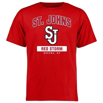 St. Johns Red Storm Big & Tall Campus Icon T-Shirt - Red
