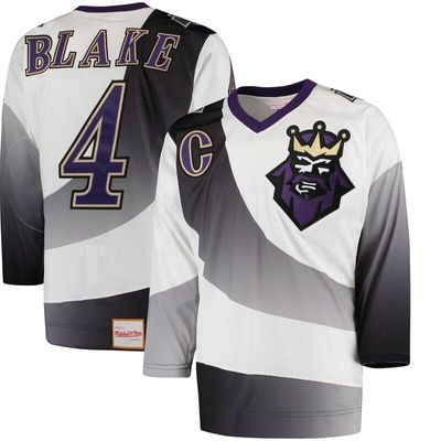 Rob Blake Los Angeles Kings Mitchell & Ness 1995/96 Throwback Alternate Authentic Vintage Jersey - White