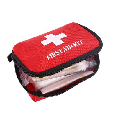 Portable Car Emergency Rescue Kit Outdoor Household First Aid Kit Hiking Travel Rescue Bag