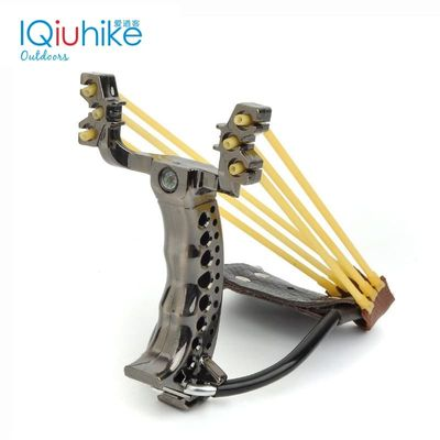 2020 NEW Powerful Hunting Slingshot With 2 Rubber Band Tubing Catapult Professional Tactical Pocket Target Sling Shot Ball