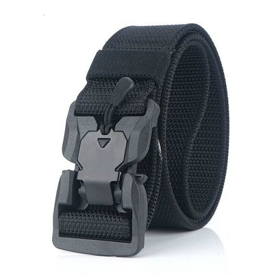 NEW Military Equipment Combat Tactical Belt for Men US Army Training Nylon Magnetic Buckle Waist Belt Outdoor Hunting belt