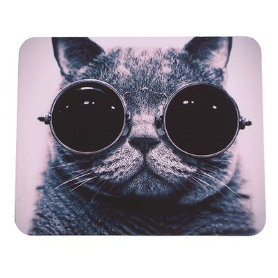 mouse pad Hot Cat Picture Anti-Slip Laptop PC Mice Pad Mat Mousepad For Optical Laser Mouse Promotion!