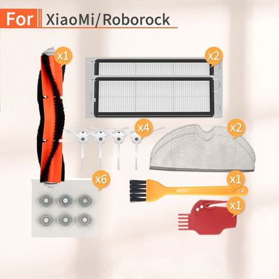 Robot vacuum cleaner accessories side brush filter HEPA accessories for millet home 1S 2S roborock s50 s55 s6 parts replacement