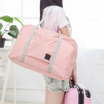 Folding Travel Bag Nylon Travel Bags Hand Luggage for Men & Women Fashion Travel Duffle Bags Tote Large Handbags Duffel