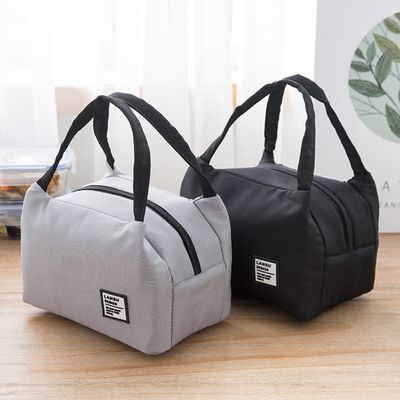 Portable Lunch Bag 2020 New Thermal Insulated Lunch Box Tote Cooler Bag Bento Pouch Lunch Container Food Storage Bags #YL5