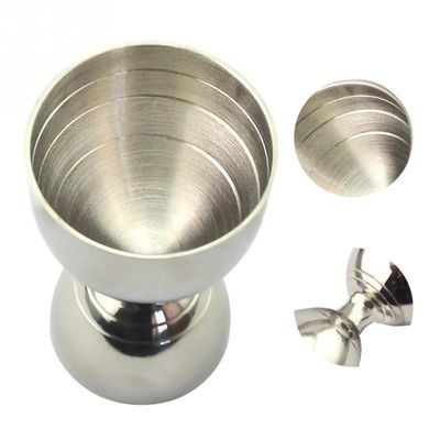NEW Stainless Steel Cocktail Jigger 30ml/60ml Bar Jigger Bell Jigger Measuring Liquor Shot Cup Drink Mixer Measurer #20