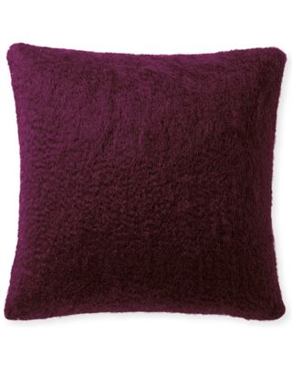 Serena & Lily Albion Mohair Pillow Cover