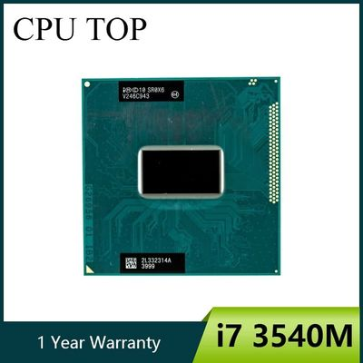 Intel Core i7-3540M 3.0GHz 4M Socket G2 Laptop Processor CPU SR0X6