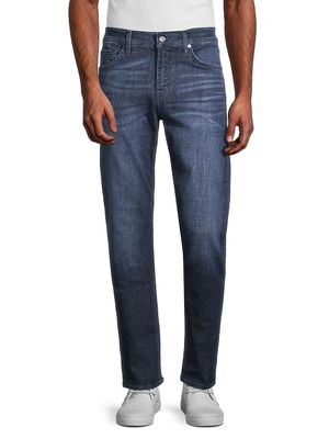 7 For All Mankind Slimmy Squiggle Straight Jeans