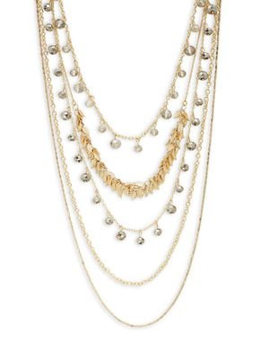 Saks Fifth Avenue Faceted Multi-Strand Necklace