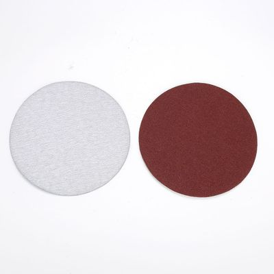 Round 5 Inch Polished Sandpaper Polishing Durable Practical Abrasive Finishing Buffing Brushed Tablets
