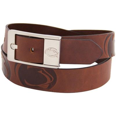 Penn State Nittany Lions Brandish Leather Belt - Brown
