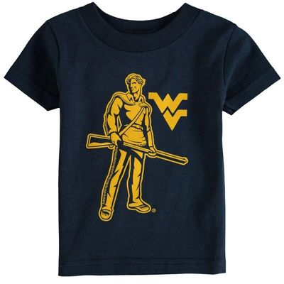 West Virginia Mountaineers Infant Big Logo T-Shirt - Navy