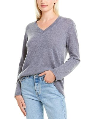 Hannah Rose Easy Body Cashmere Sweater