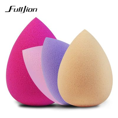 Fulljion Soft Water Drop Shape Makeup Cosmetic Puff Face Care Powder Smooth Beauty Foundation Sponge Clean Makeup Tool Accessory