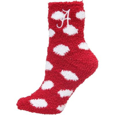 Alabama Crimson Tide ZooZatz Women's Plush Dot Socks