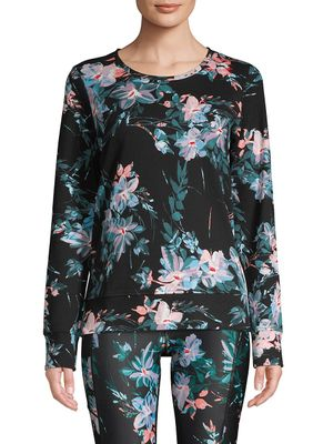 Marc New York Performance Floral Cotton Top