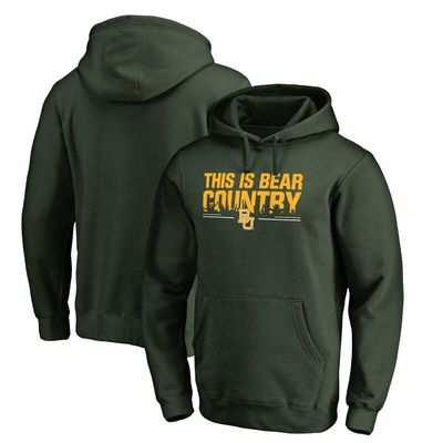Baylor Bears Our House Pullover Hoodie - Green