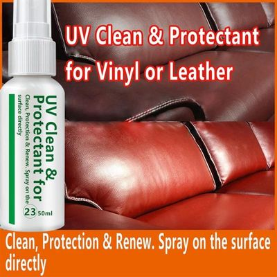 20ml/50ml Leather Cleaner Leather Sofa Bag Car Leather Care Oil Cleaning Agent