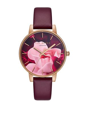 Ted Baker London Kate Leather Watch