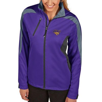 Northern Iowa Panthers Antigua Women's Discover Full-Zip Jacket - Purple