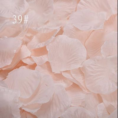 Rose Petals 2000pcs/lot Wedding Accessories Flowers Artificial Wedding Rose Flowers Colorful Party Room Decoration mariage RS01