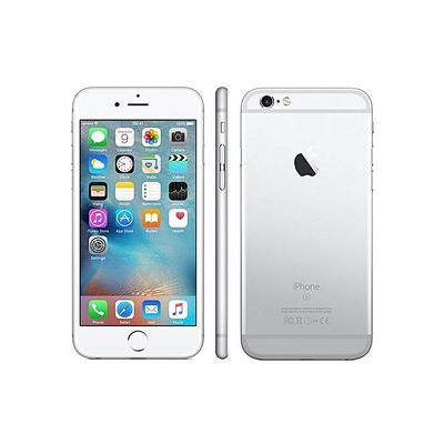 Iphone 6S Plus 16gb Silver And Free PowerBank 6000 MAh And Bluetooth Speaker