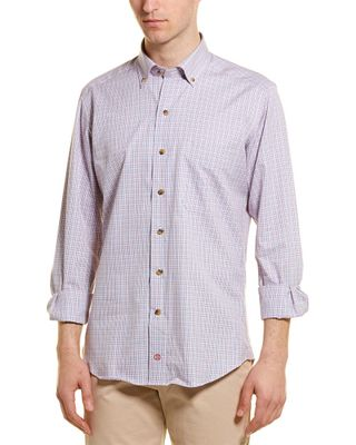 David Donahue Casual Woven Shirt