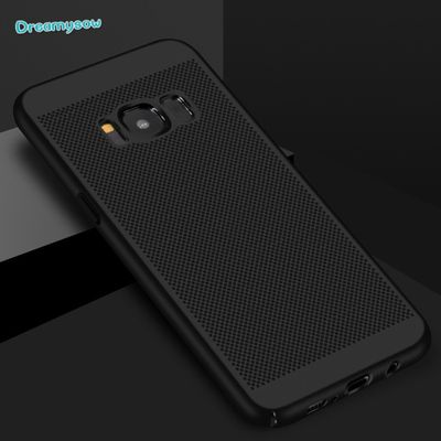 Heat dissipation PC Case For Samsung Galaxy A71 A51 A70 A50 A40 A30 A20 S20 S10 S9 S8 Plus S7 Edge A7 2018 Cover Hard Back Cases