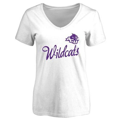 Abilene Christian University Wildcats Women's Dora T-Shirt - White