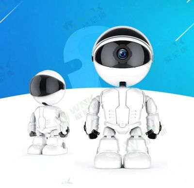Intelligent Camera Robot 1080P IP WIFI Camera Infant Monitor Wireless Camera Home Security Cute Robot Kids Gifts