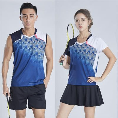 Women and Men Tennis Badminton Suit Quick-drying Sports Shirts Shorts Skirts Breathable Sweat Absorbing Outdoor Active Jersey