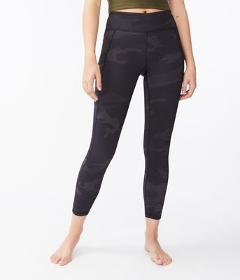 Aeropostale Camo High-Rise Pocket Leggings