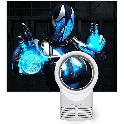 Portable Air Conditioner Table Mini Bladeless Fan With Adapte