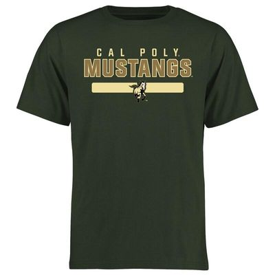 Cal Poly Mustangs Team Strong T-Shirt - Green