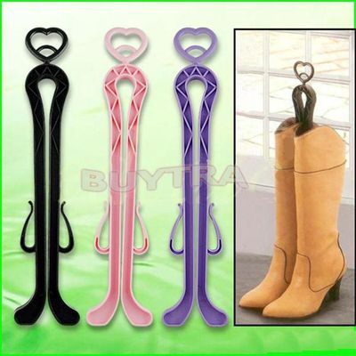 1PC 35cm Shoe Trees Plastic Long Boots Shaper Stretcher Trees Supporter Shaft Keeper Holder Organizer Storage Hanger Accessories