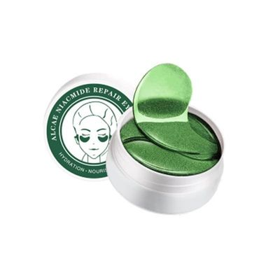 Natural Green Seaweed Firming Eye Mask Eye Patches for the Eyes Crystal Green Masks Anti Dark Circle Eyelid Patch New Hotest