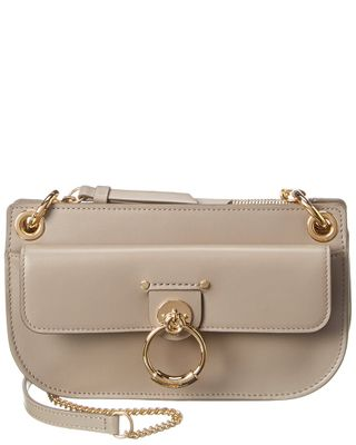 Chloe Tess Small Leather Wallet On Chain