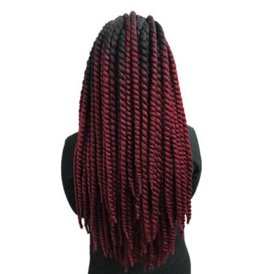 Luxury For Braiding Pre Twist Synthetic Hair 120g 12strands/pc Stretched Length 20-24