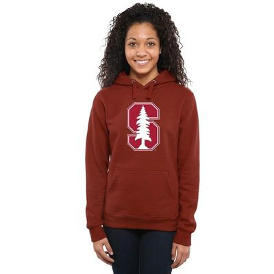 Stanford Cardinal Women's Classic Primary Pullover Hoodie - Cardinal