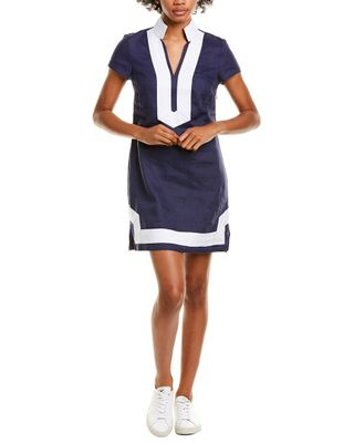Sail to Sable Classic Linen Tunic Dress