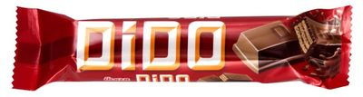 ULKER Dido Milk Chocolate Covered Wafer Frame 35 Gr * 24 pieces