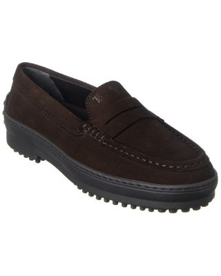 TOD's Suede Penny Loafer