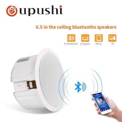 Oupushi CA1062B Built In Ceiling Speaker Bluetooths Wall Speaker Portable PA System